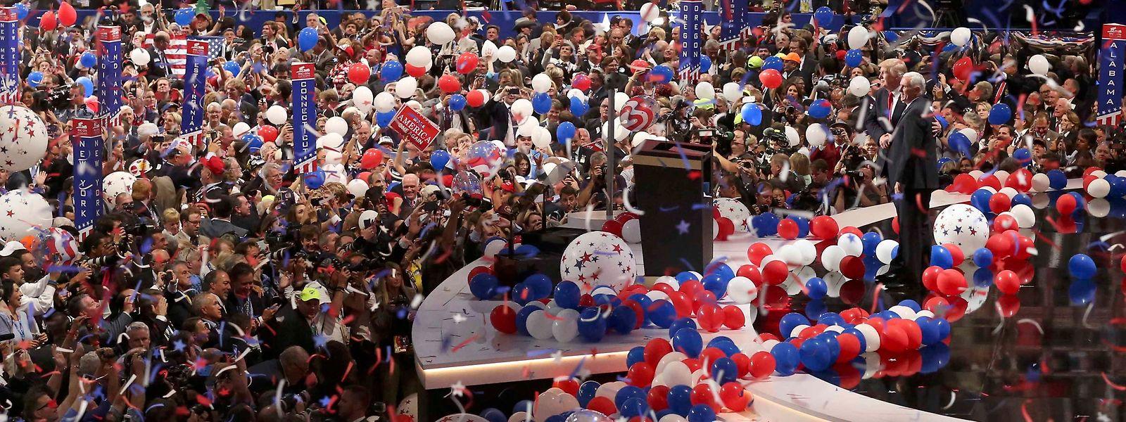 Covid-19 macht einen Strich durch die traditionellen amerikanischen Wahlparteitage.