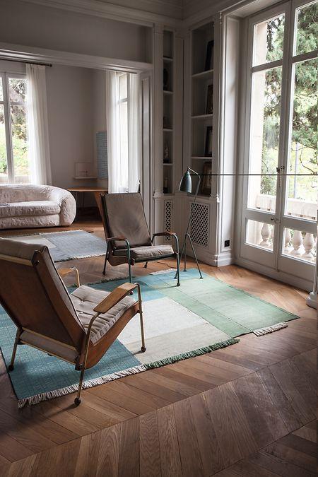 """Hohe Qualität und soziales Engagement werden bei der traditionellen Fertigung der Teppiche """"Tres"""" in deren Herkunftsländern vereint."""