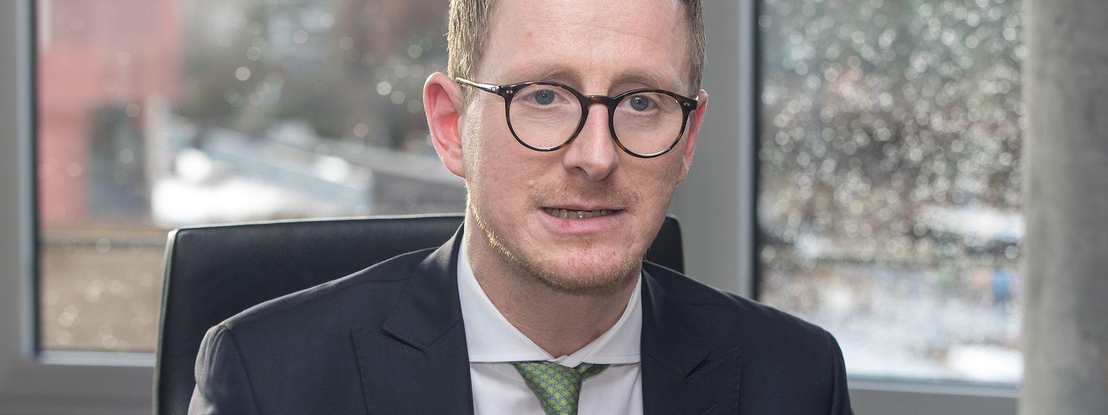 Markus Müller leitet das Global Chief Investment Office der Deutschen Bank