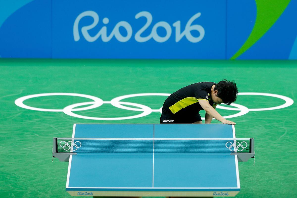 Nach der dritten Runde war Schluss: Ni Xian Lian scheidet aus dem Turnier aus.