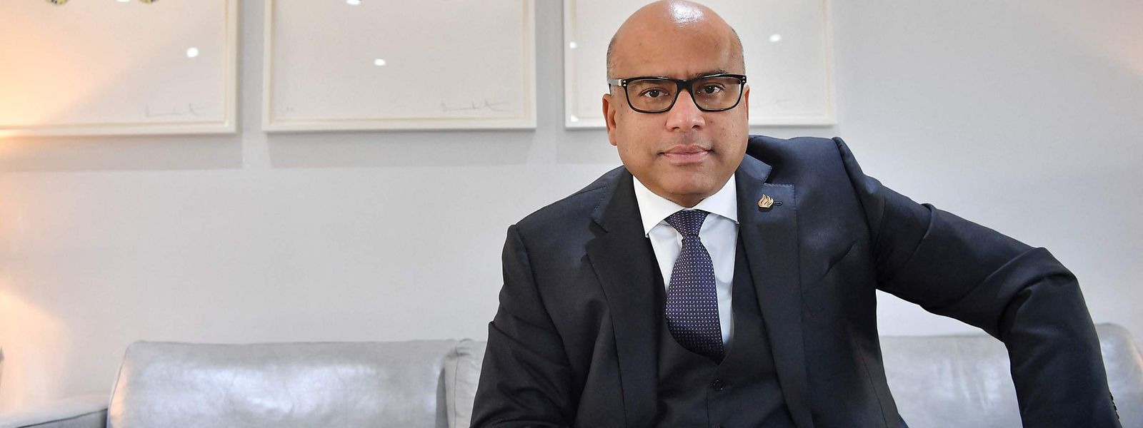 Industriemagnat Sanjeev Gupta.