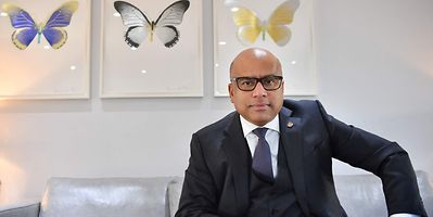 Sanjeev Gupta, head of the GFG Alliance, shown in London in January 2019. Britain's Serious Fraud Office launched a probe into the owner of Liberty Steel on Friday.