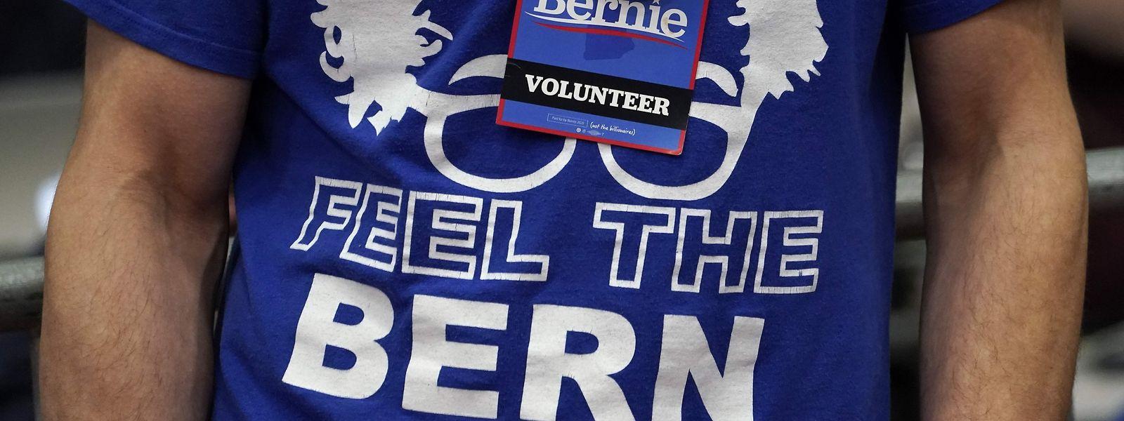 Ses supporters sont aux anges: Bernie Sanders a remporté 26% des suffrages dans le New Hampshire