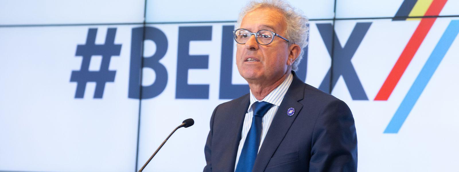"""Ironie de l'histoire, Pierre Gramegna avait déjà eu l'occasion de discuter de la révision de cette """"tolérance fiscale"""" avec Alexander De Croo. Ce dernier était alors ministre des Finances et pas encore Premier ministre de Belgique."""