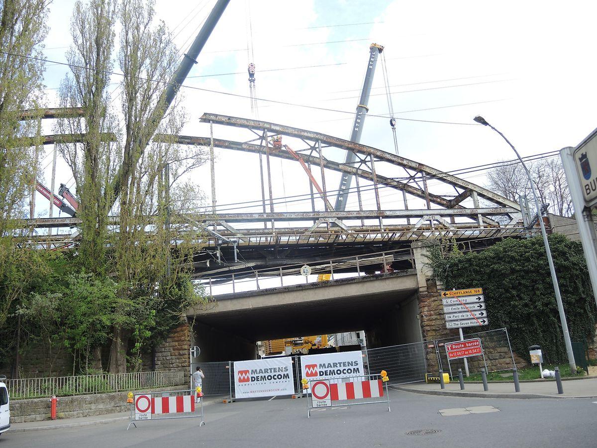 """Einst wurde die """"Ronn Bréck"""" wegen ihrer Bauweise auch als """"Escher Eiffelturm"""" betitelt."""