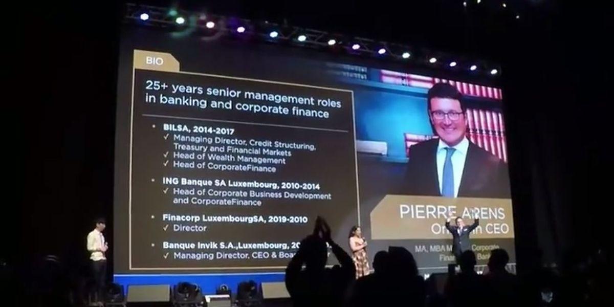 Der Luxemburger Pierre Arens ist seit Mai CEO des Unternehmens.