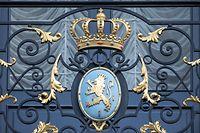Luxemburger Wappen. Cour Grand-ducale. Palais. Photo Guy Wolff