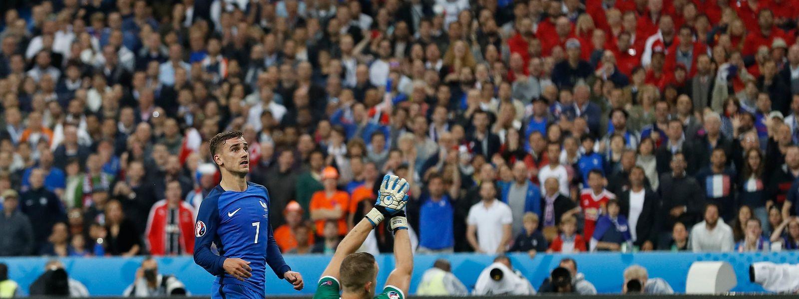 Antoine Griezmann erzielte das 4:0.