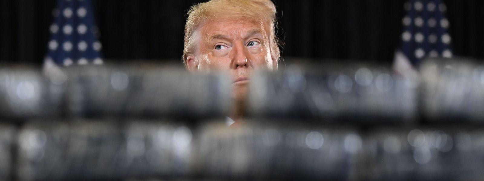 Trump beim Pressebriefing: Bis zum Wahltag könnten mehr als 200.000 US-Bürger an den Folgen einer Corona-Infektion sterben, schätzen Analysten.