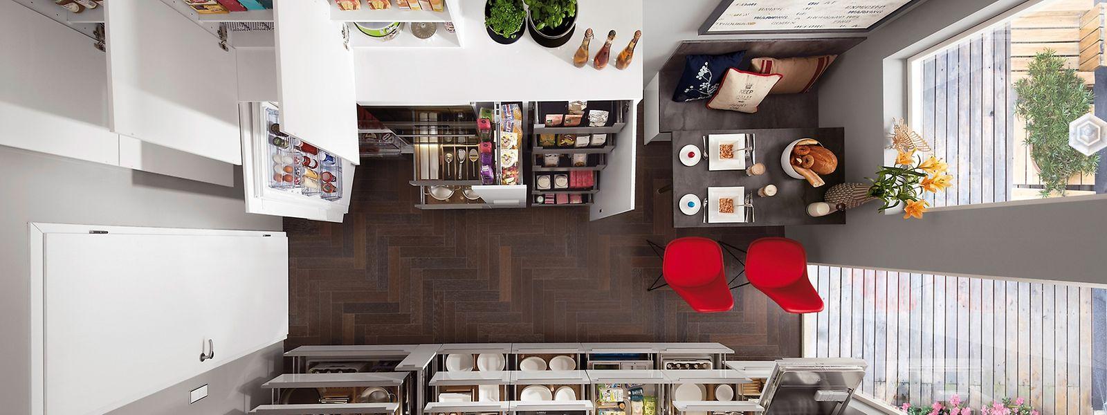 Groß Küchenschublade Zieht Platzierung Bilder - Küchenschrank Ideen ...