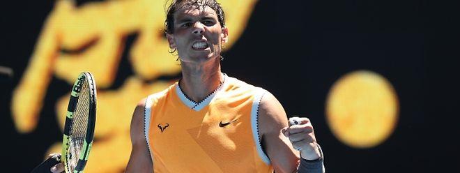 Rafael Nadal n'a pas manqué son entrée en matière sur les courts de Melbourne.