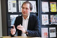 Online.fr, déi Gréng, Partei, François Benoy Foto: Anouk Antony/Luxemburger Wort