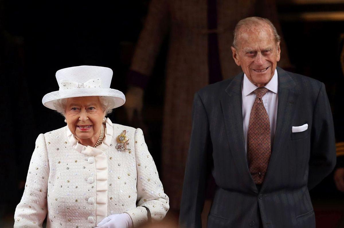 Immer an der Seite der Queen: Prinz Philip.
