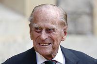 ARCHIV - 22.07.2020, Großbritannien, London: Der britische Prinz Philip, Herzog von Edinburg, lächelt. Der 99 Jahre alte Prinz Philip hat einen medizinischen Eingriff am Herzen überstanden. «Der Herzog von Edinburgh hat gestern im St. Bartholomäus-Krankenhaus einen erfolgreichen Eingriff wegen einer Vorerkrankung am Herzen überstanden», teilte der Buckingham-Palast am 04.03.2021 mit. Foto: Adrian Dennis/PA Wire/dpa +++ dpa-Bildfunk +++
