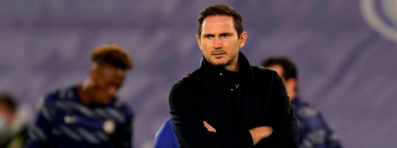 Frank Lampards Zeit beim FC Chelsea ist abgelaufen.