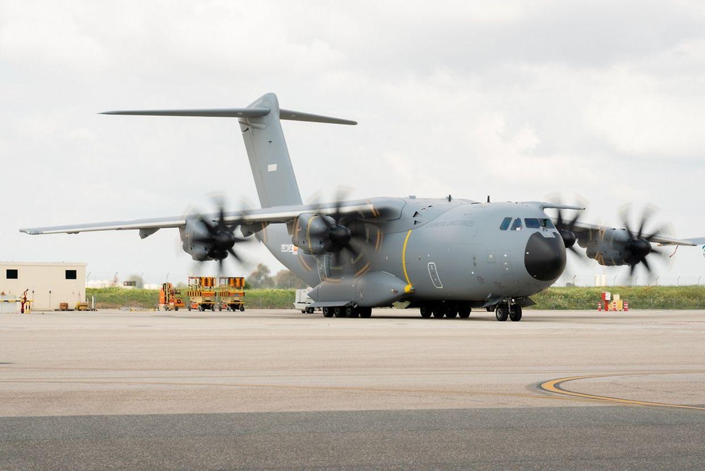 L'Airbus A400M a effectué son premier vol, au mois d'avril, à Séville.