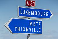 A31 Metz Thionville Luxembourg, Peage, Foto Lex Kleren