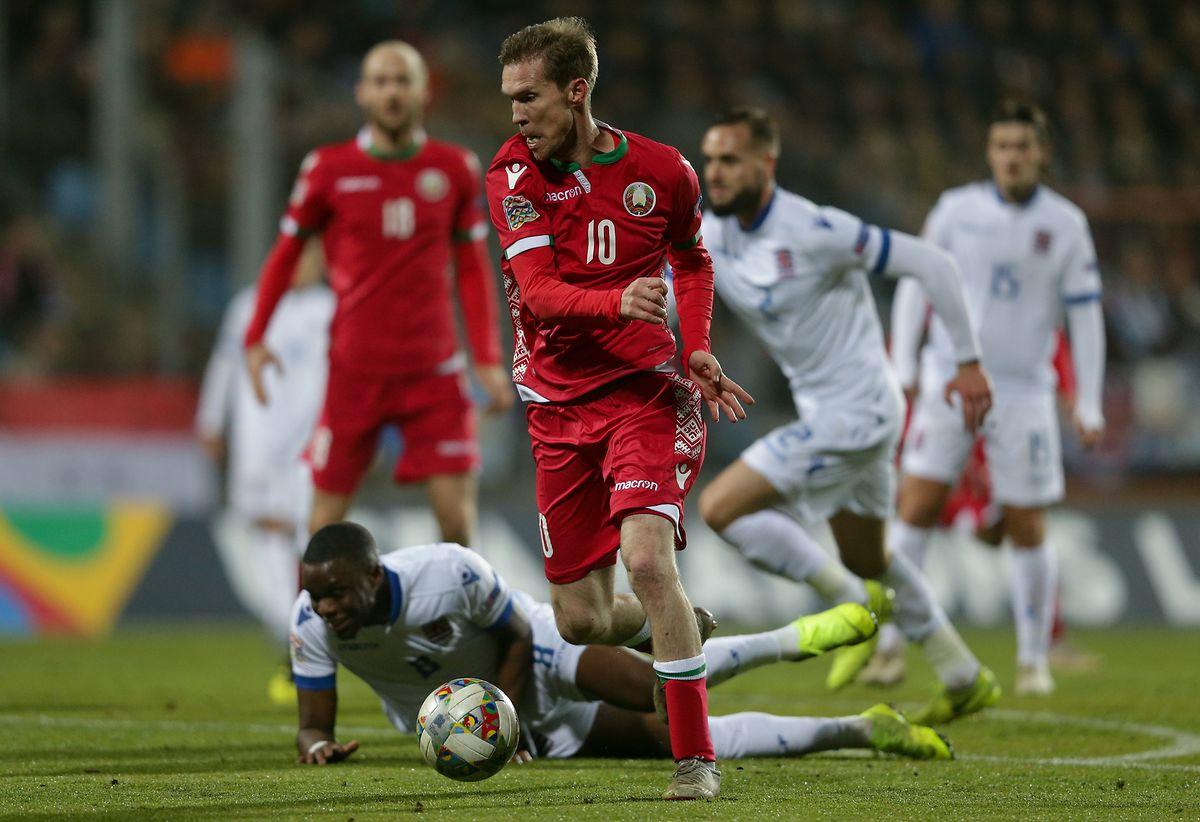 Liga das Nações. Luxemburgo perde com a Bielorrússia e deixa escapar ... 8058e84893b0f
