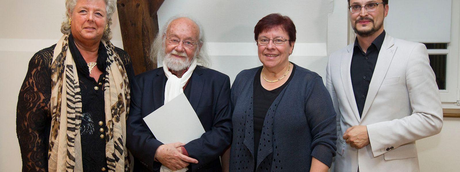Remise du Prix Batty Weber a Lambert Schlechter.