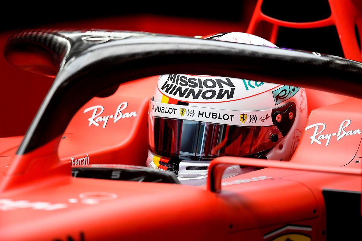 Vettel konnte seine Ziele mit Ferrari nicht erreichen.