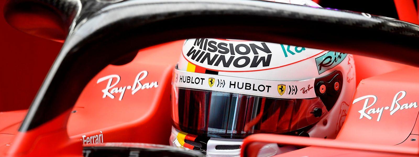 Sebastian Vettels Vertrag läuft in diesem Jahr aus.