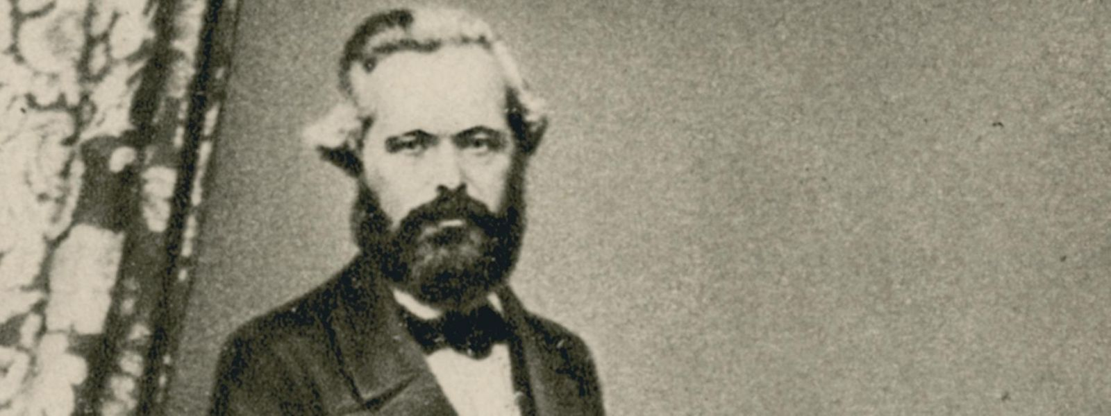 Porträt von Karl Marx, 1861
