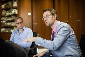 Chefredakter fir een Dag - Marcel Kramer - Photo : Pierre Matgé