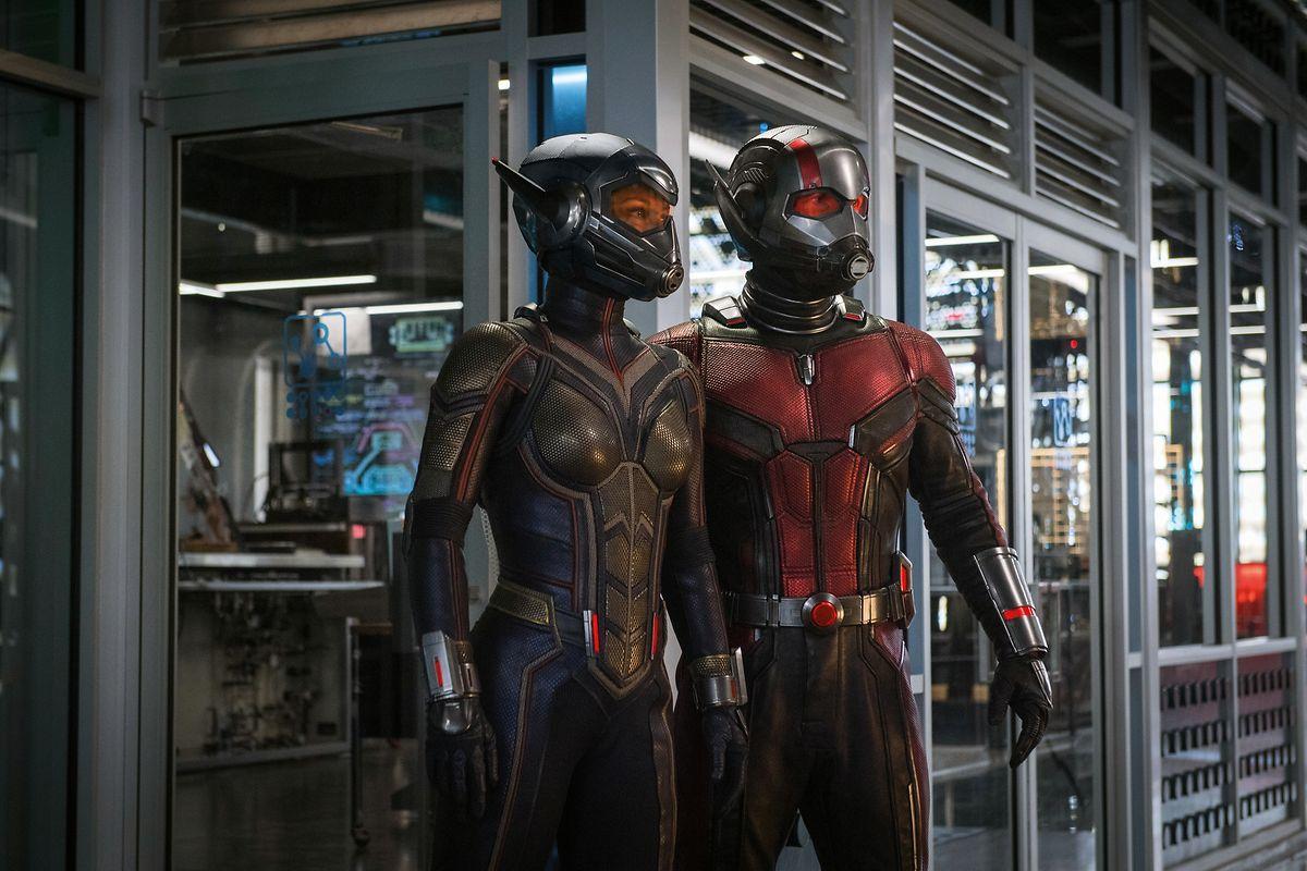 In Wasp alias Hope Van Dyne (Evangeline Lilly) findet der Ant-Man Scott Lang (Paul Rudd) nicht nur im Kampf gegen die Bösen eine passende Partnerin.