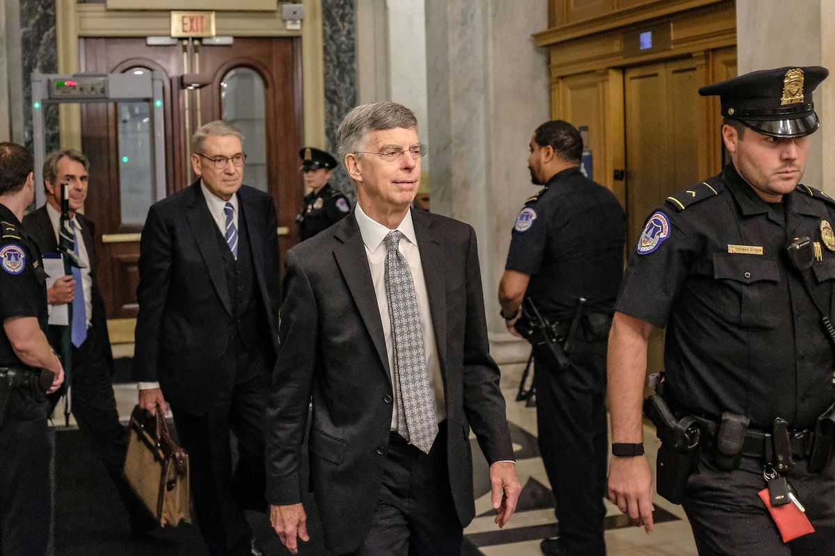 William (Bill) Taylor, der geschäftsführende US-Botschafter in der Ukraine, wird am Mittwoch zum zweiten Mal vor dem Kongress aussagen - doch diesmal öffentlich.