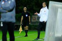 Jeff Strasser (Swift - Trainer) / Fussball BGL Ligue Luxemburg, 5. Spieltag Saison 2020-2021 / 23.09.2020 / FC Swift Hesperingen - F91 Düdelingen  / Stade Alphonse Theis / Foto: Yann Hellers