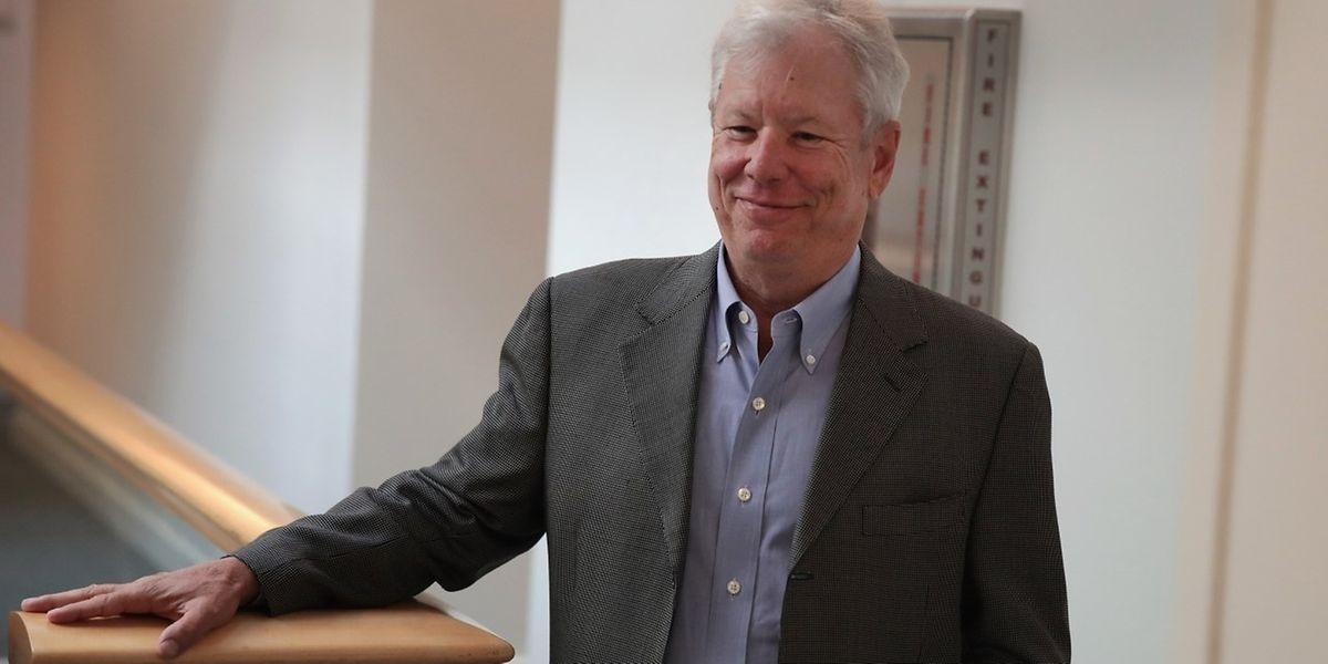 Le professeur Richard Thaler en octobre 2009 à l'Université de Chicago.