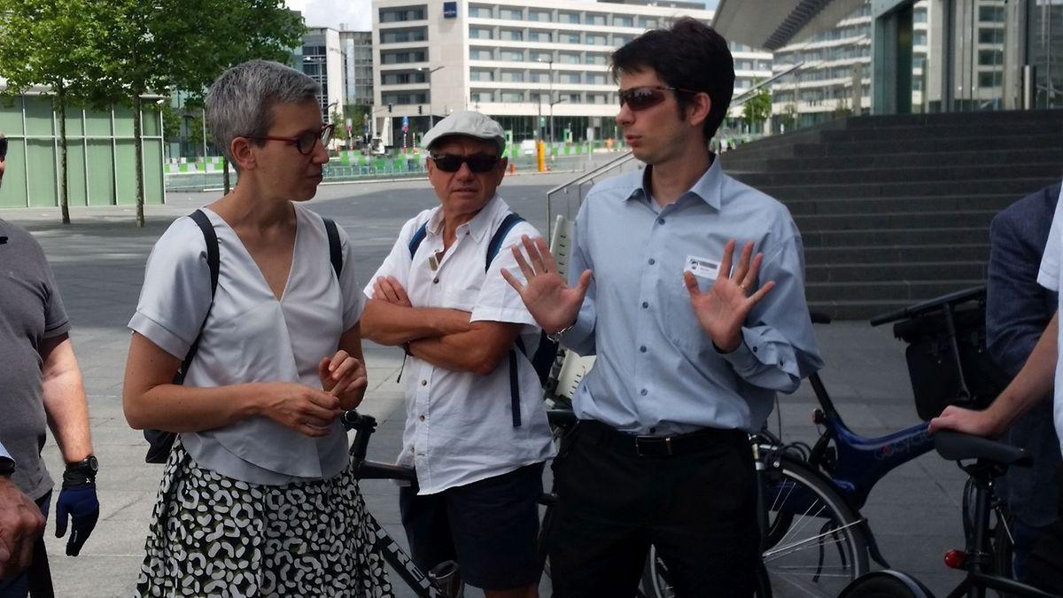 Nicolas: «Un piéton marche à 5km/h, un vélo à 25 km/h et c'est dangereux sur une piste partagée».