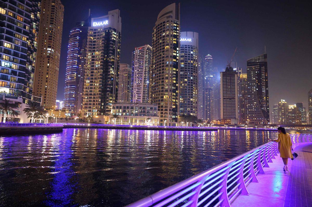 Hala Baidun konnte sich in Dubai impfen lassen, auch ohne Wohnsitz in den Vereinigten Arabischen Emiraten.
