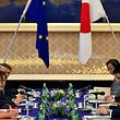 EU-Handelskommissarin Cecilia Malmström und Landwirtschaftskommissar Phil Hogan führten Gespräche in Japan.