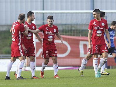 Ylber Ibrahimi a inscrit le seul but de Grevenmacher qui amorce sa remontée au classement.