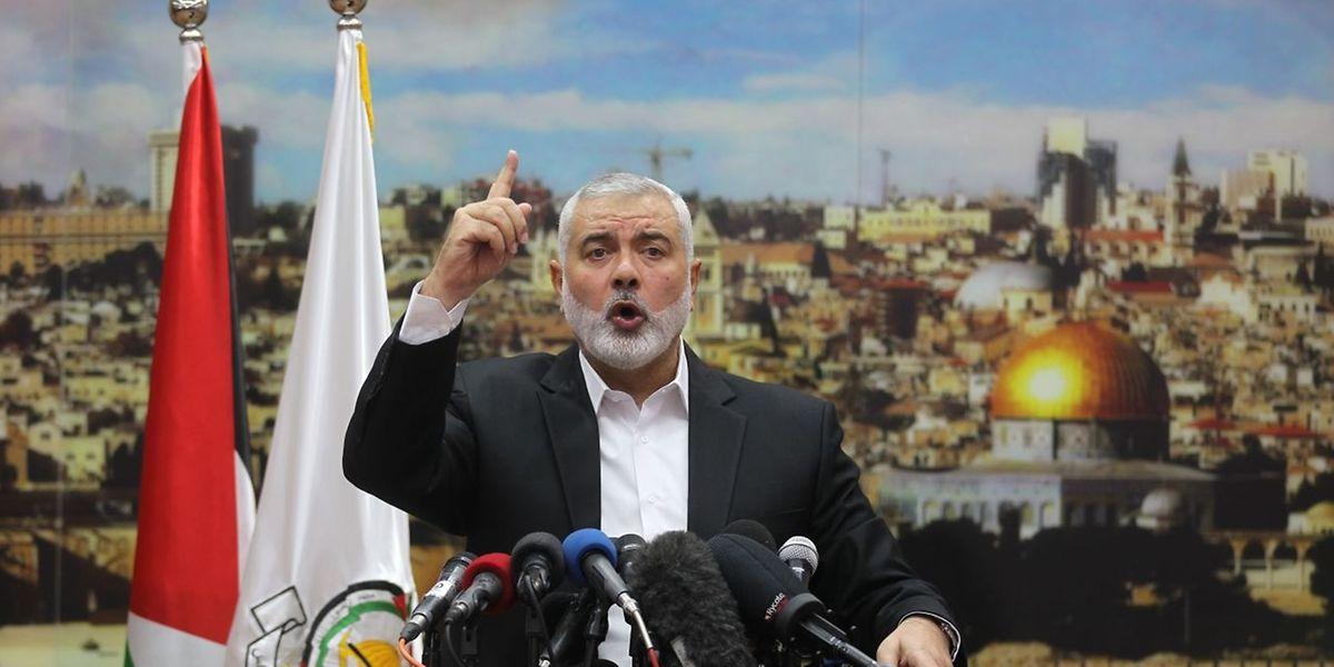 O anúncio foi feito hoje pelo líder do Hamas, Ismail Haniya.