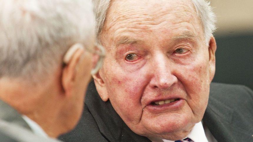 David Rockfeller war das letzte Enkelkind des sagenhaften Ölmagnaten John D. Rockefeller.