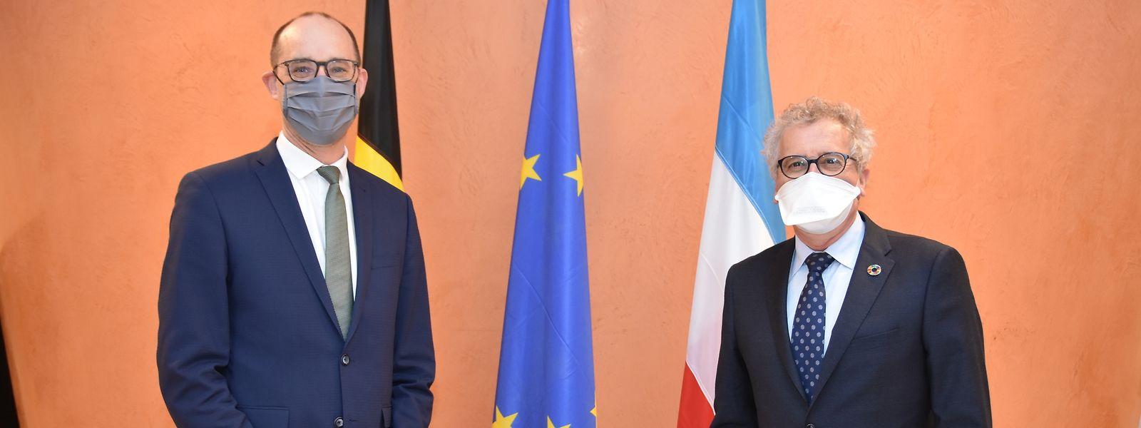Vincent Van Peteghem, ministre belge des Finances, aura finalement préféré annoncer l'accord autour du versement des compensations fiscales aux communes frontalières lors de son passage à la Chambre des représentants plutôt que lors de son passage au Luxembourg.