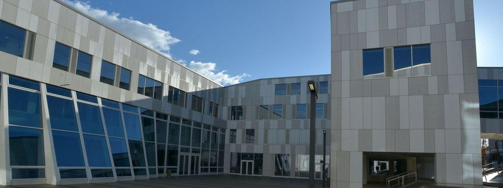 Im neuen Gebäudekomplex des Maacher Lycée werden momentan über 900 Schüler unterrichtet.