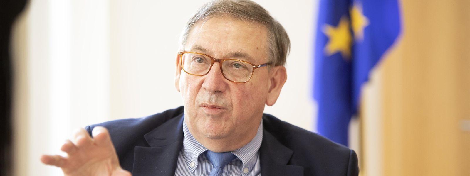 Jean-Luc Demarty a passé huit ans à la tête de la Direction générale du commerce, plus connue sous le nom de «DG Trade», de la Commission européenne.
