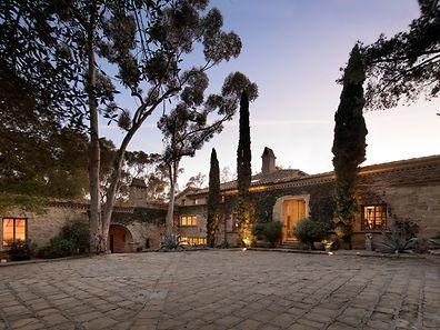 Das - für amerikanische Verhältnisse - historische Gemäuer ist von italienischer Architektur inspiriert.