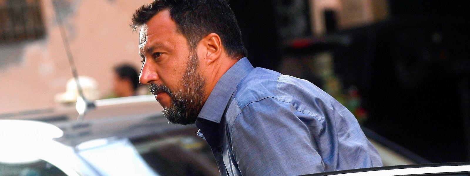 Merde alors: Für den Rechtspopulisten Matteo Salvini sind die Umfragewerte nicht gut – er muss zittern.