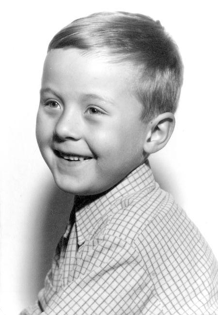 Christian Faber als Junge
