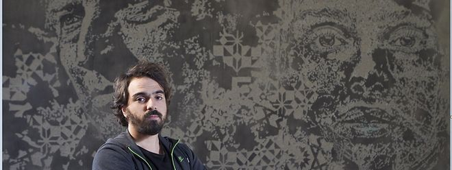 O graffiter Vihls (Alexandre Farto) vai criar na cidade do Luxemburgo uma obra em homenagem à imigração portuguesa