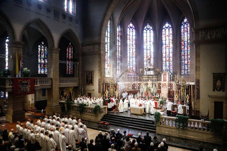 Die Kathedrale war am Samstag gut besucht.