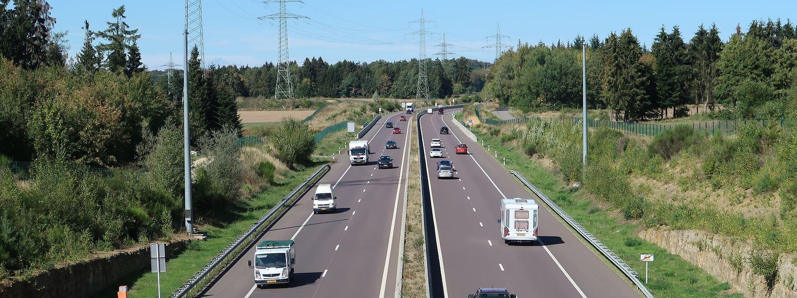 Täglich werden rund 28 000 Fahrzeugbewegungen auf der A7 zwischen Lorentzweiler und Kirchberg gezählt.