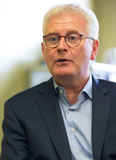 Joseph Britz, Direktor des ECG.