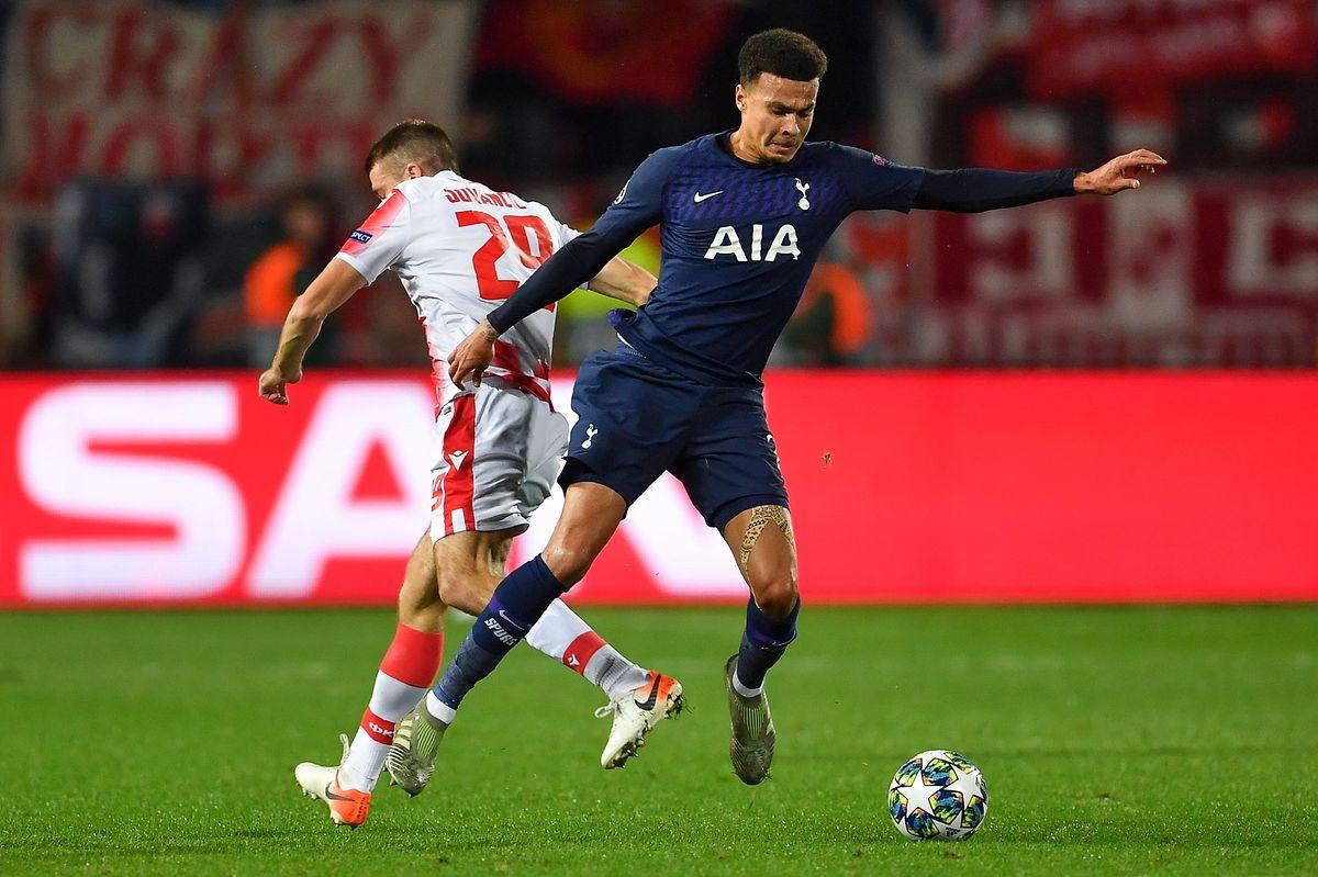 Victorieux 0-4 de l'Etoile Rouge de Dusan Jovancic, Dele Alli et Tottenham filent vers la qualification