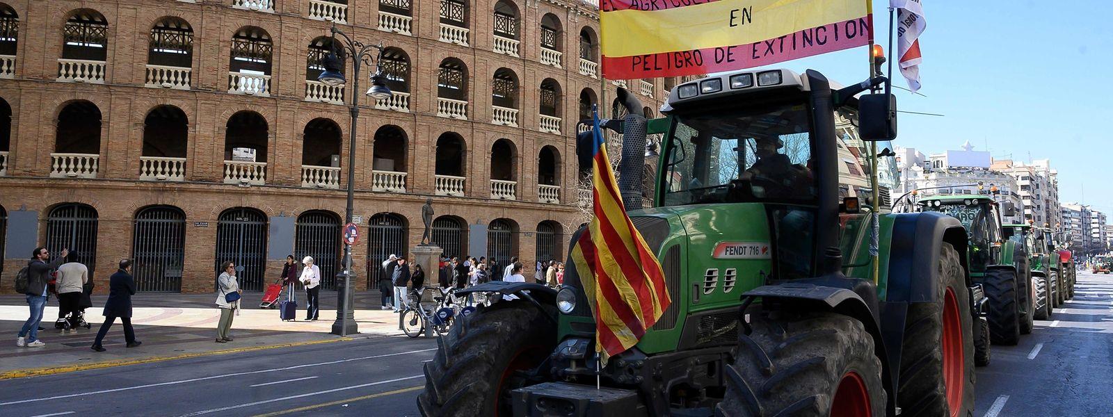 Le centre de Valence, troisième du pays, a été totalement paralysé ce 14 février