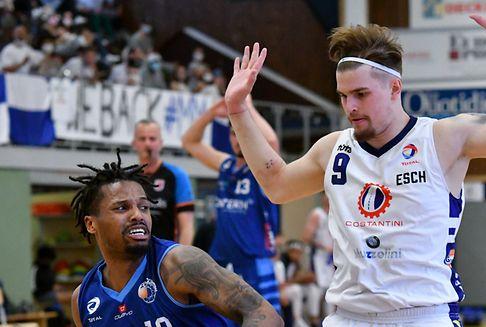 Basket Esch und T71 ziehen ins Halbfinale ein